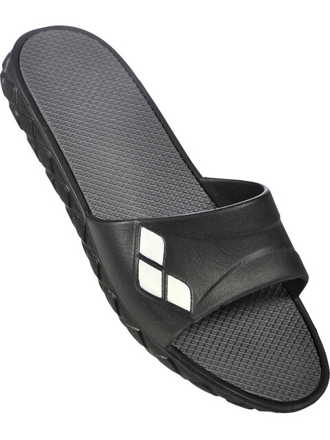 arena Watergrip Pool Sandals Women black-dark grey